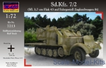 Sd.Kfz.7/2 German AA self-propelled gun 3,7cm Flak 43