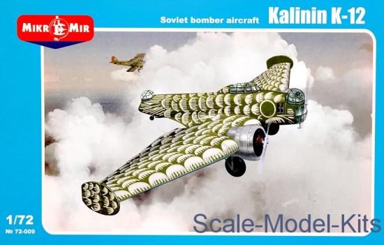 Kalinin K-12 Soviet bomber aircraft