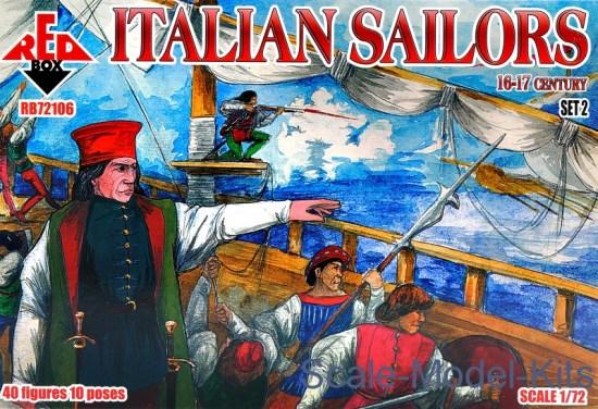 Italian Sailors, 16-17 century, set 2