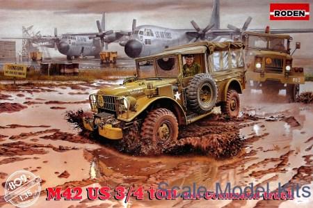 M-42 US Вѕ ton 4x4 Command truck