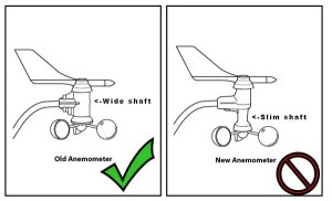 Davis 7315240 – Pro2 Anemometer Wind Speed Reed Switch