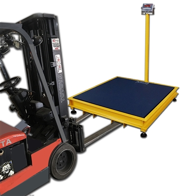 4 x 4 portable floor scale pit frame