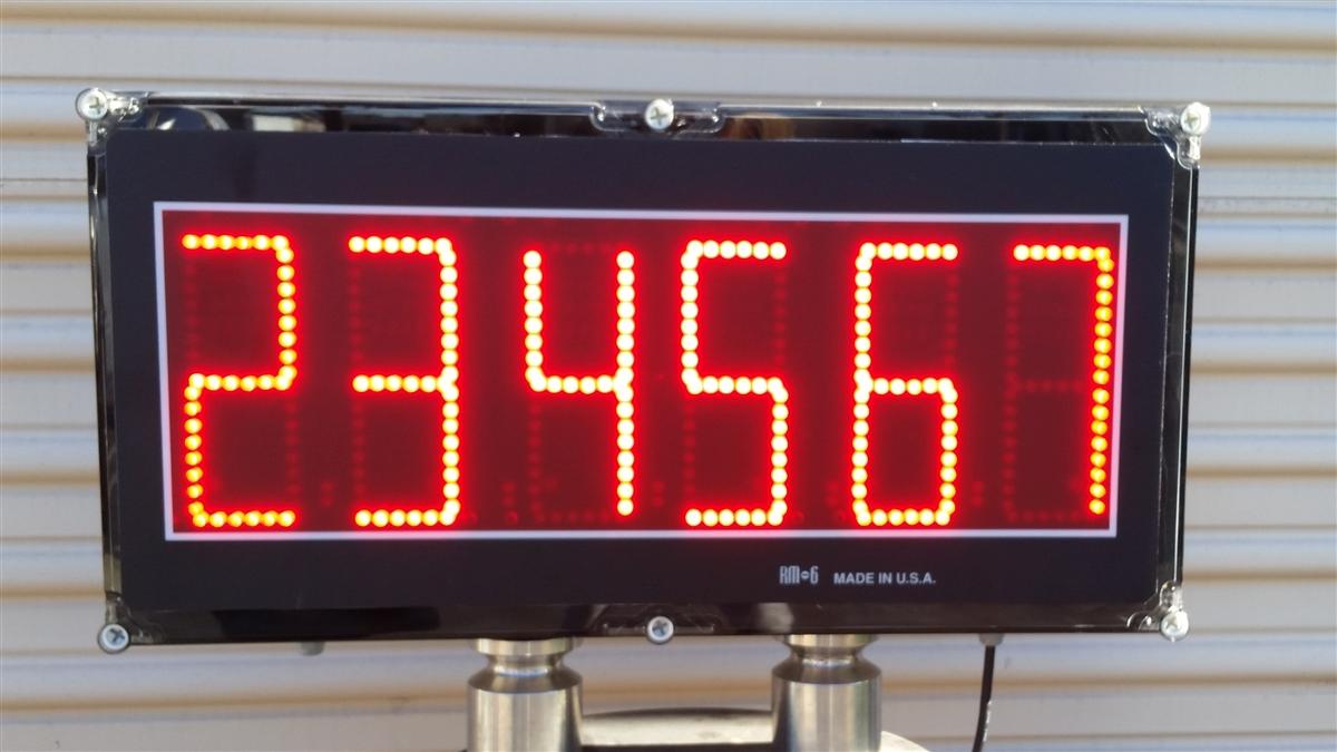 TR 1 Nk SE 6 Tall Digits Digital Display Indicator