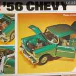 56 Chevy Revell H 1373 1973