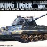 King Tiger Arii Remo Con Tank No 4 198x
