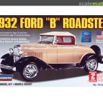 Lindberg 1932 Ford B Roadster 1 32 Scale Plastic Model Car Kit Mimbarschool Com Ng