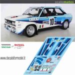 Fiat 131 Abarth To T92359 Fiat Decals For Model Fi15