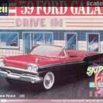 59 Ford Galaxie Revell 7162 1988