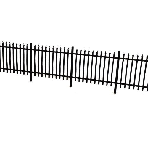 LX011-OO Laser Cut 6ft Wrought Iron Railings OO 4mm 1 76