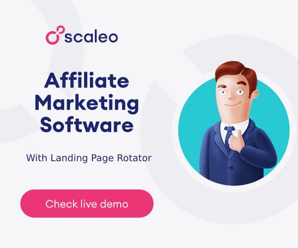 Scaleo - affiliate marketing software