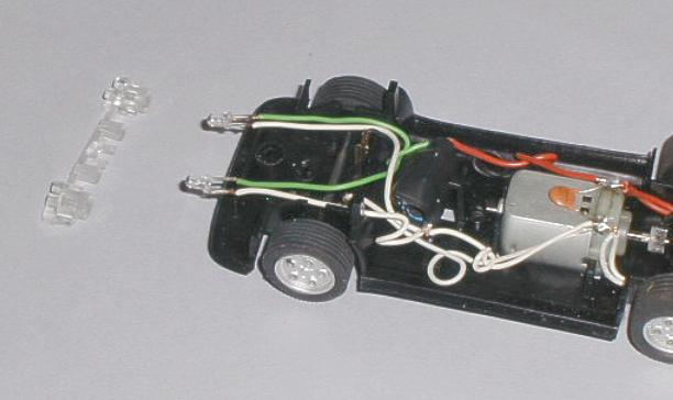 Wiring Kit To Replace The Old Wire In Your Scalextric Cars