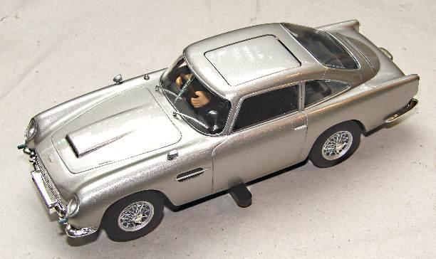 Digital chip fitted to C3664A James Bond Aston Martin DB5 Goldfinger underside