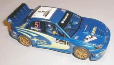 Scalextric Subaru Impreza