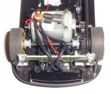 Scalextric Subaru repaired