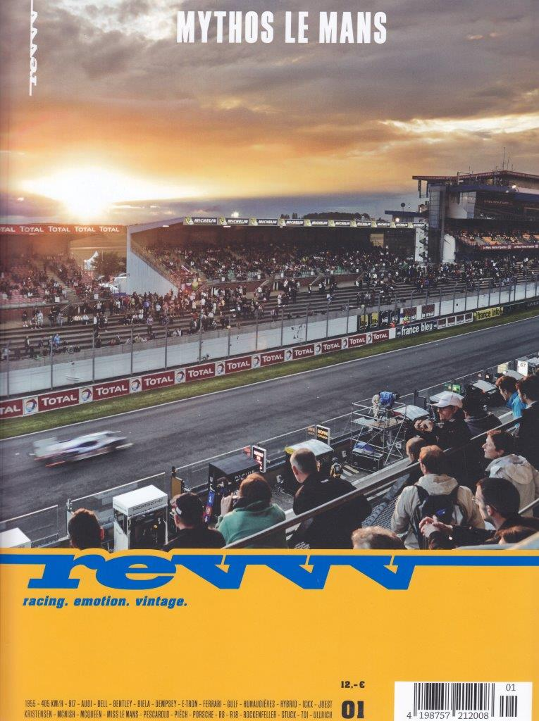 REVVV MAGAZINE ON LE MANS & THE SCALFARO LM917 HANS MEZGER EDITION