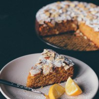 Meyer lemon almond cake (Gluten-free)
