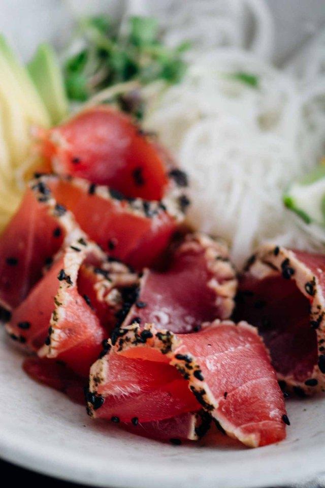 Sesame And Nori Crusted Ahi Tuna New Year Reset Day 26 Www