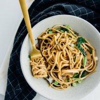 30-minute gingered sesame noodles