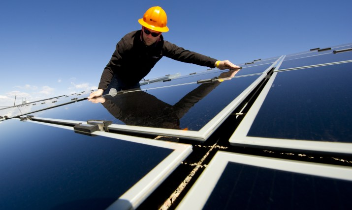 SunEdison Solar power installer, sunny
