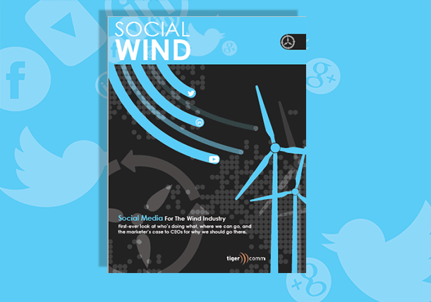 social media for the wind industry cover image