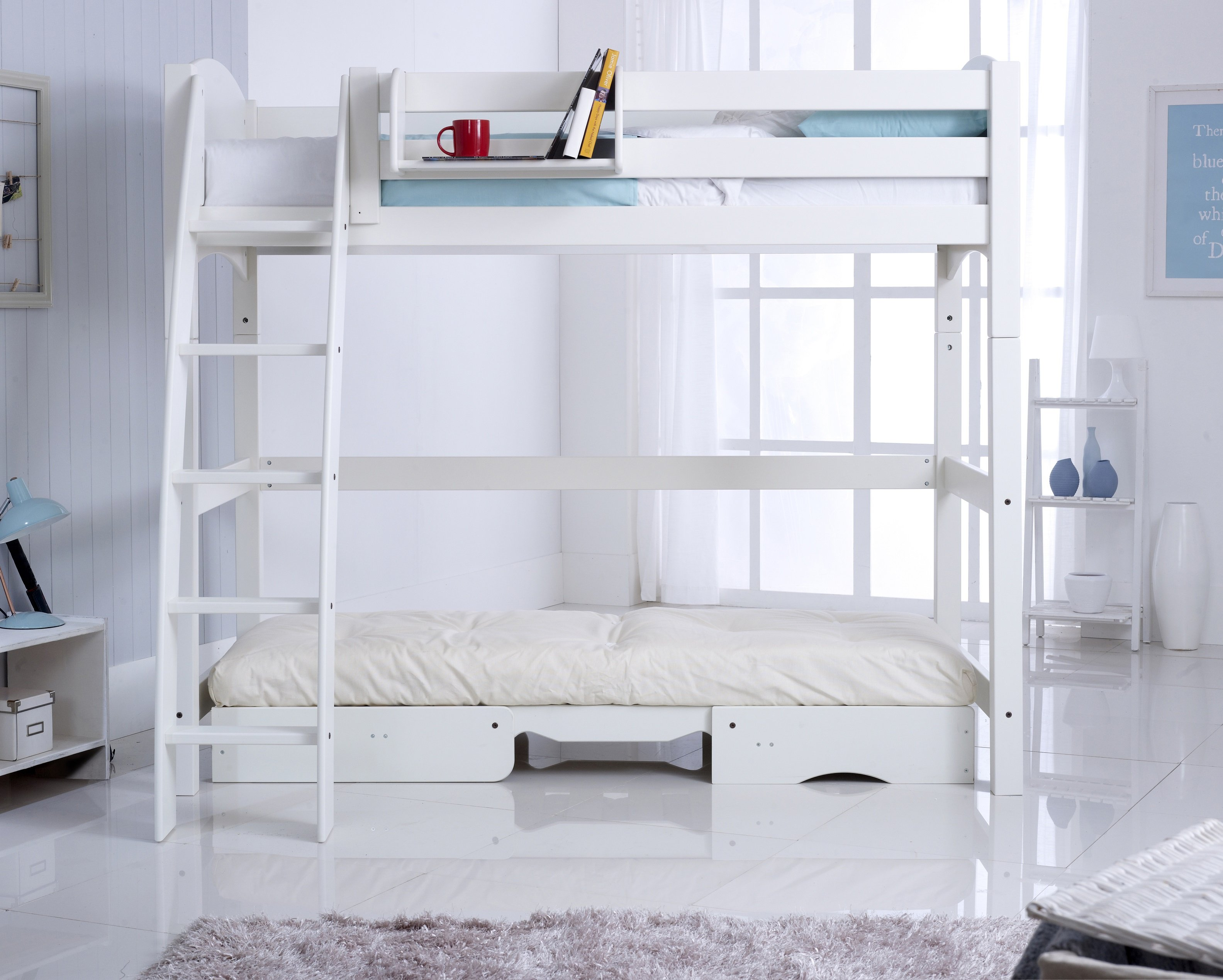 chair that opens into a bed wire mesh supports scallywag convertible high sleeper with futon