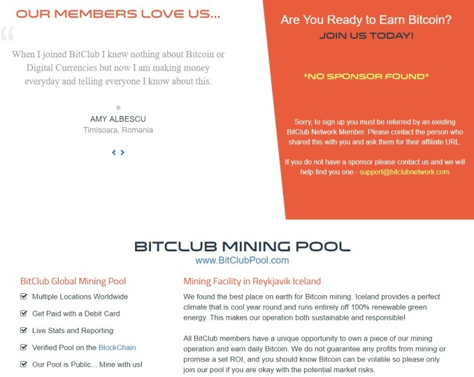 BitClub Network Mining Pool