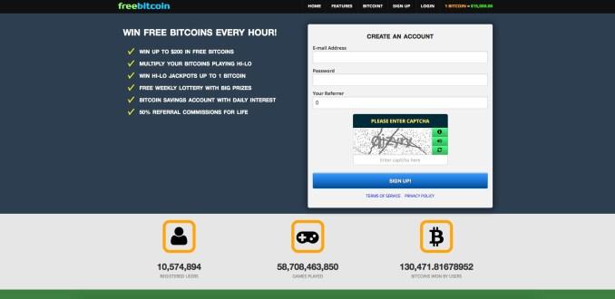 freebitco.in - Free Bitcoin