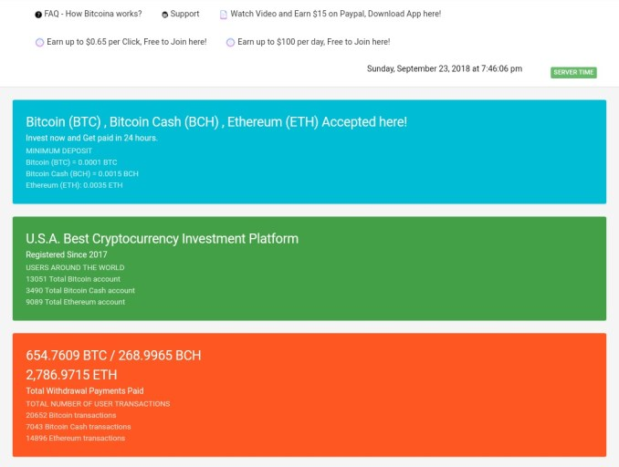 Bitcoina.us - Scam Review