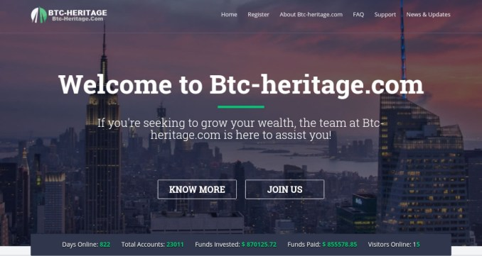 BTC Heritage Review