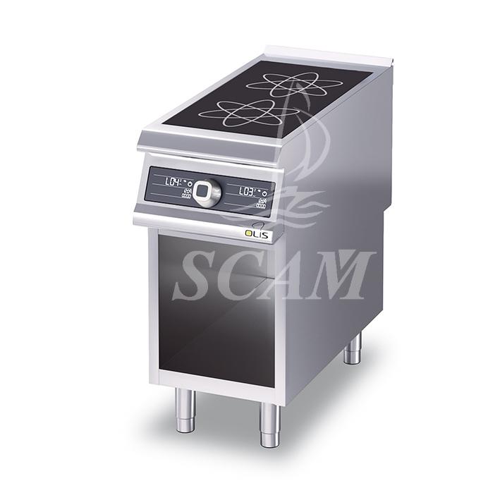 Cucine friggitrici e griglie in acciaio per cottura professionale  Scaminox