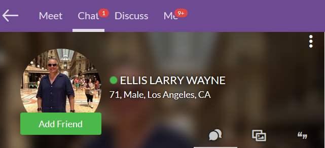 Romance Scam: Ellis Larry Wayne