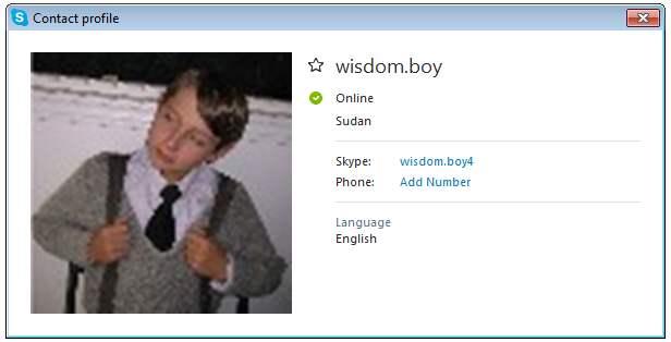 419 SCAM: Wisdom Boy/Wisdom Okoro/Chukwuka Osuagwu: (Ghana)