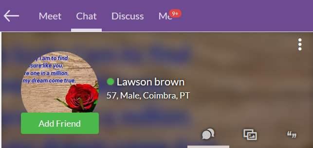 419 Scam/Romance Scam: LAWSON BROWN