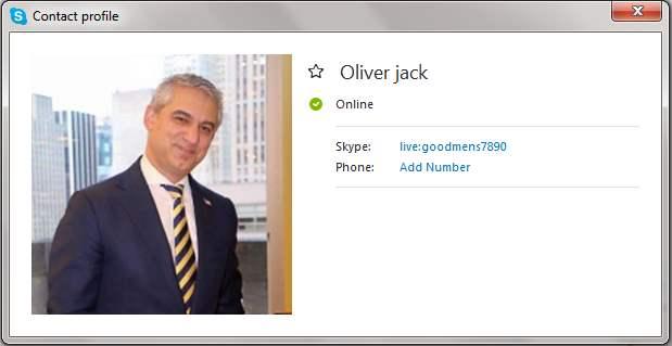 Scammers on Skype: live:goodmens7890 (OLIVER JACK)