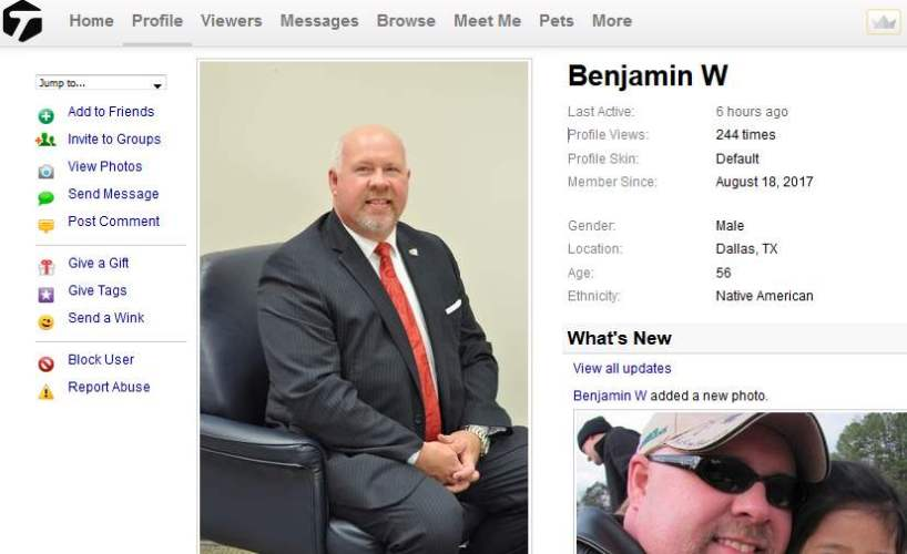 Congrats-your-busted-36: 419 Scam/Romance Scam: BENJAMIN WOODS