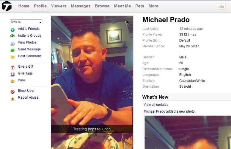 Romance Scam/Fake Military: MICHAEL PRADO/  PETER PRADO