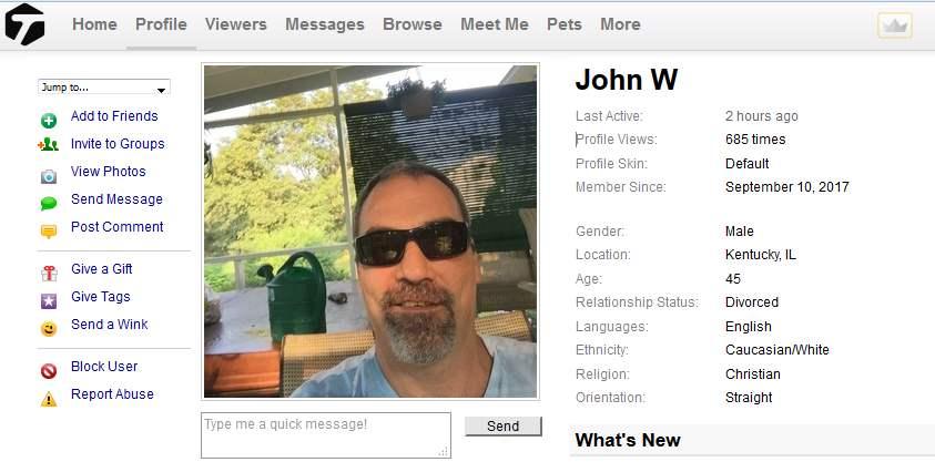 Romance Scam/Financial Scam/Phishing: JOHN WILLIAMS