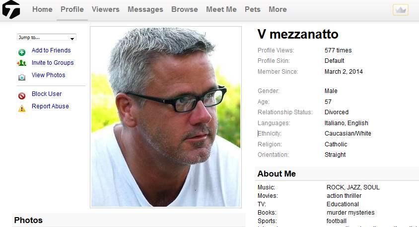 Congrats-your-busted-63: Romance Scam/Loan Scam: VICTOR MEZZANATTO