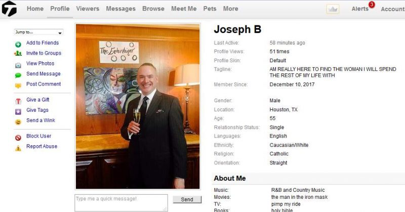 Congrats-your-busted-93: Romance Scam/Loan Scam: JOSEPH BRIGGS