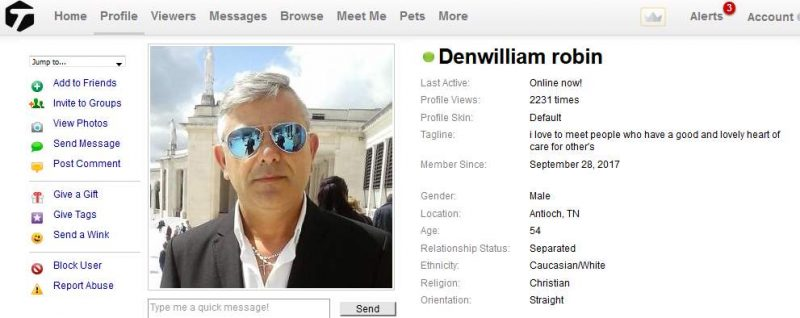 Congrats-your-busted-92: Romance Scam/Loan Scam: DANIEL WILLIAM ROBIN (Ghana)