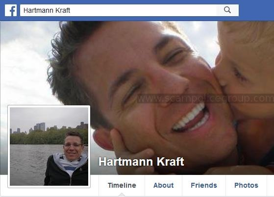 Romance Scam/Advance Fee Fraud/Parcel Delivery Scam/ Phishing: HARTMANN KRAFT/DYLAN WALTERS (Nigeria)