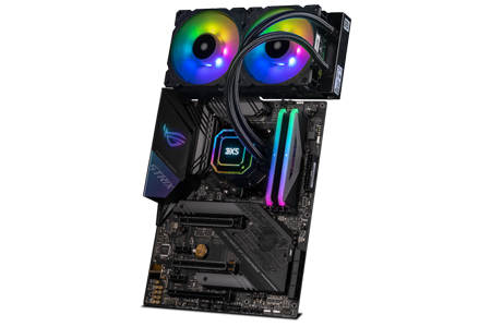 Bundle with AMD Ryzen 7 2700X and an ASUS ROG STRIX X570-F - 3XS