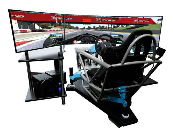 hydraulic racing simulator chair parsons chairs with arms raid full motion pro 3xs