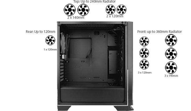 Antec NX600 PC Gaming Case