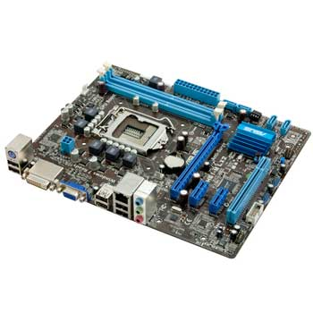 ASUS P8H61-M LX Si Socket 1155 Motherboard LN39541 - P8H61-M LX2 Si   SCAN UK