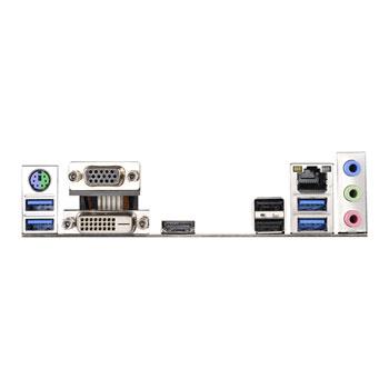 ASRock Intel B150M DDR3/DDR4 Combo-G Micro ATX Motherboard
