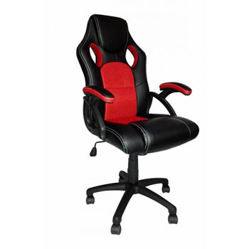 Neo Media Racing Style Gaming Chair in BlackRed Suitable