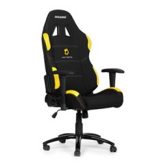 Pro Gaming Chairs Uk Pink Wingback Chair Akracing Team Dignitas Edition In Black Yellow Fabric Image 1