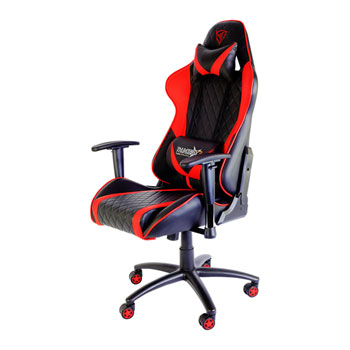 pro gaming chairs uk little girl rocking chair aerocool tgc15 thunder x3 black red ln80518