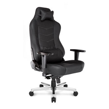 ak racer gaming chair green plastic chairs racing onyx premium black leather ln81871 image 1